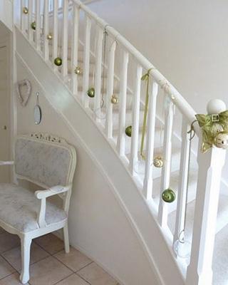 Déco de Noël : 6 idées pour votre escalier - Escaliers Rive-Sud