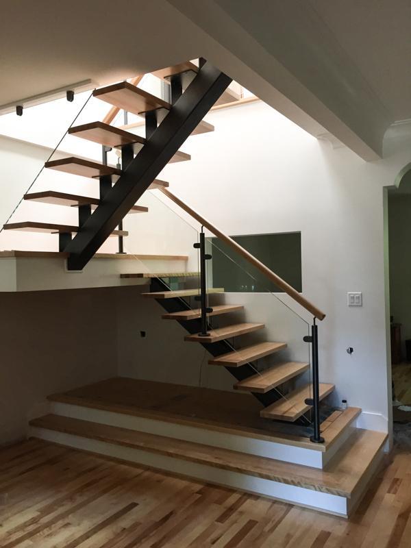 Galerie des r alisations des escaliers rive sud - Escalier ouvert ...